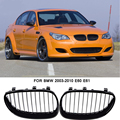 Блестящая Черная решетка передней линии любезно решетки для BMW E60 E61 для 520 520i 523i 2003-2010