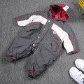 Бесплатная доставка новый 2014 осень зима ползунки детская одежда мальчик общая толстые теплые хлопок комбинезон onesie