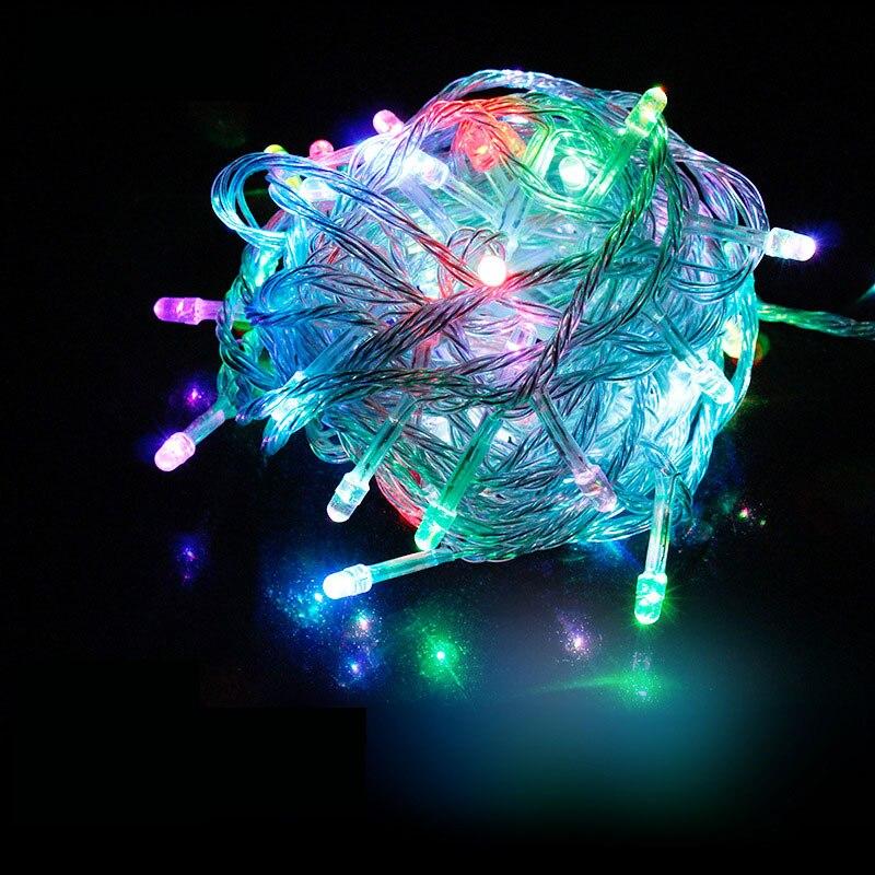 Led Jeu de Lumières 100 M 800 led de Vacances lumière lampe décoration extérieure pour le jardin de mariage de noël Fée