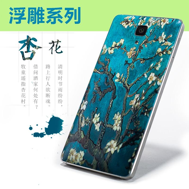 Xiaomi mi4 batareya qapağı m4 Bambuk üslublu batareya - Cib telefonu aksesuarları və hissələri - Fotoqrafiya 6