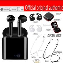 Venda quente air vagens hbq i7 tws para apple vagens de ouvido Wireles airpro perfuração da orelha gomos de ouvido Bluetooth fones de ouvido fones de ouvido