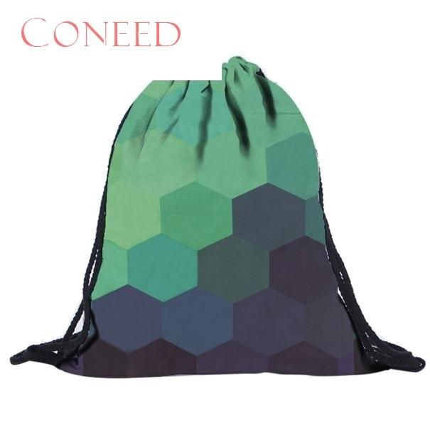 Coneed Schultaschen Drop Shipping Fashion S Unisex Ct S 3d Druck Taschen Kordelzug Charming Nizza Oct16x Herrenbekleidung & Zubehör