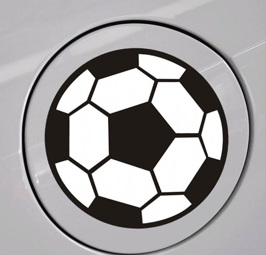 2018 World Cup Auto Football Sticker For Land Rover discovery 2 3 4 sport freelander 1 defender evoque Accessories