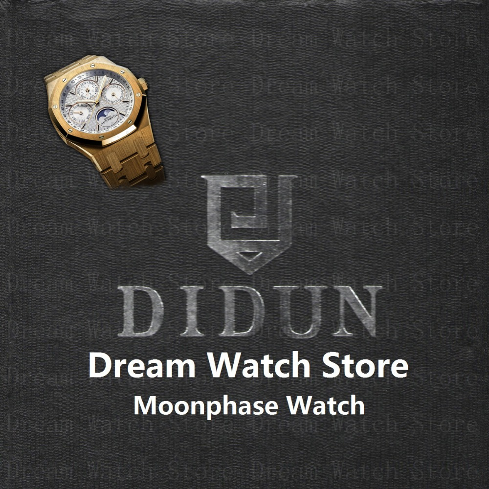 Watch Mens Watches Top Brand Luxury Automatic Gear S3 Gold Watch didun design royal one