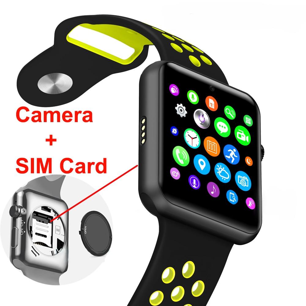 2018 smart watch hommes Bluetooth Podomètre montre pour Android IOS fréquence Cardiaque montre de sport pour hommes voor numérique montres PK HUAMI
