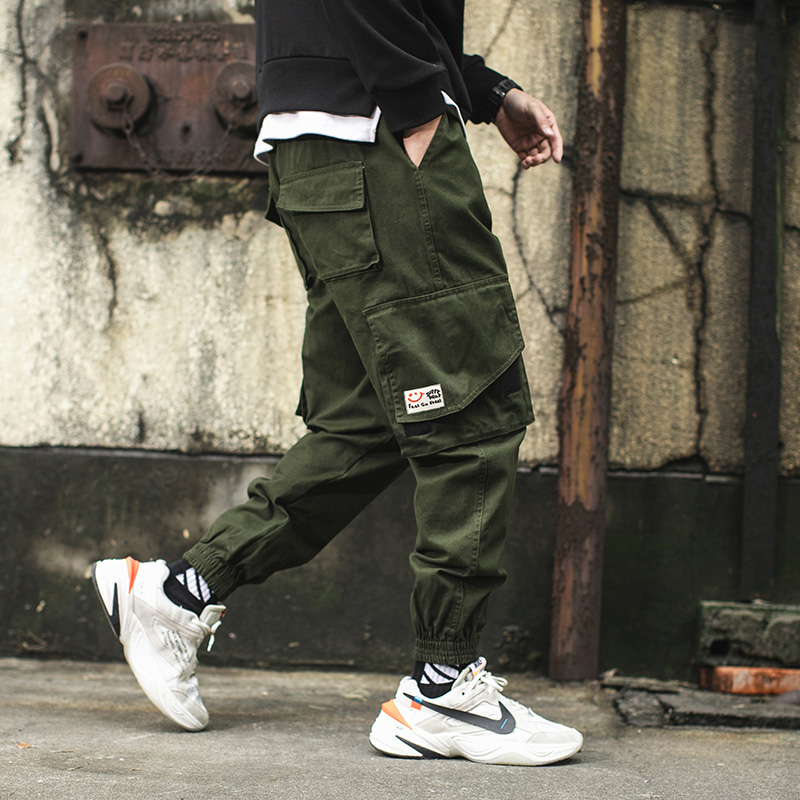 Overalls Harem-Pants Spring Trousers-Size Ankle-Length Men Streetwear New 3XL Loose Hip-Hop-Style