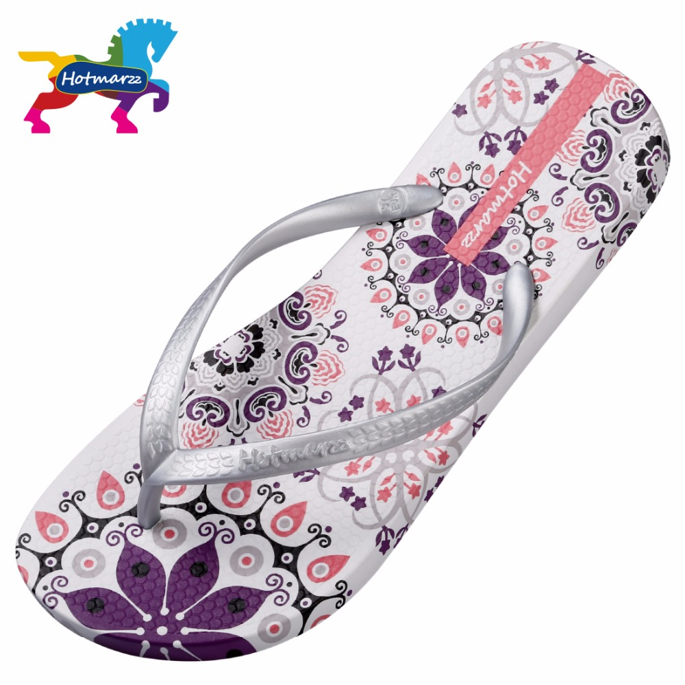 f62b5d181b6cdd ... Summer Bohemia Beach Sandals Flat Flip Flops Ladies Fashion Slippers  Indoor Shoes Silver Floral Slides. Previous. Next