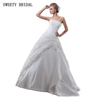 Strapless Ball Gown Lace Beadings Elegant Vestido De Noiva Alibaba China Wedding Dress