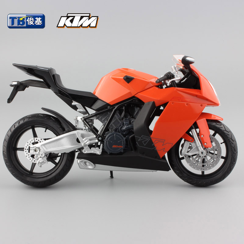 1 12 kid moto cycle ktm rc8 racing motor cycle alloy diecast metal models toys motorcycles race. Black Bedroom Furniture Sets. Home Design Ideas
