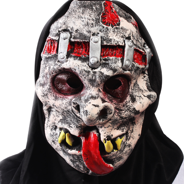 Factory Eco Friendly Plastic Horror Halloween Mask With