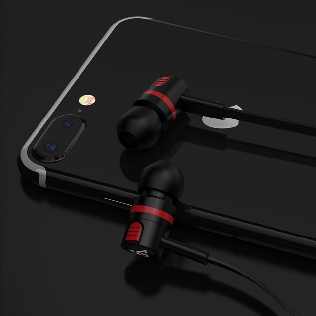 Original Brand Earbuds JM26 Headphone Noise Isolating in ear Earphone Headset with Mic for Mobile phone Universal for MP4