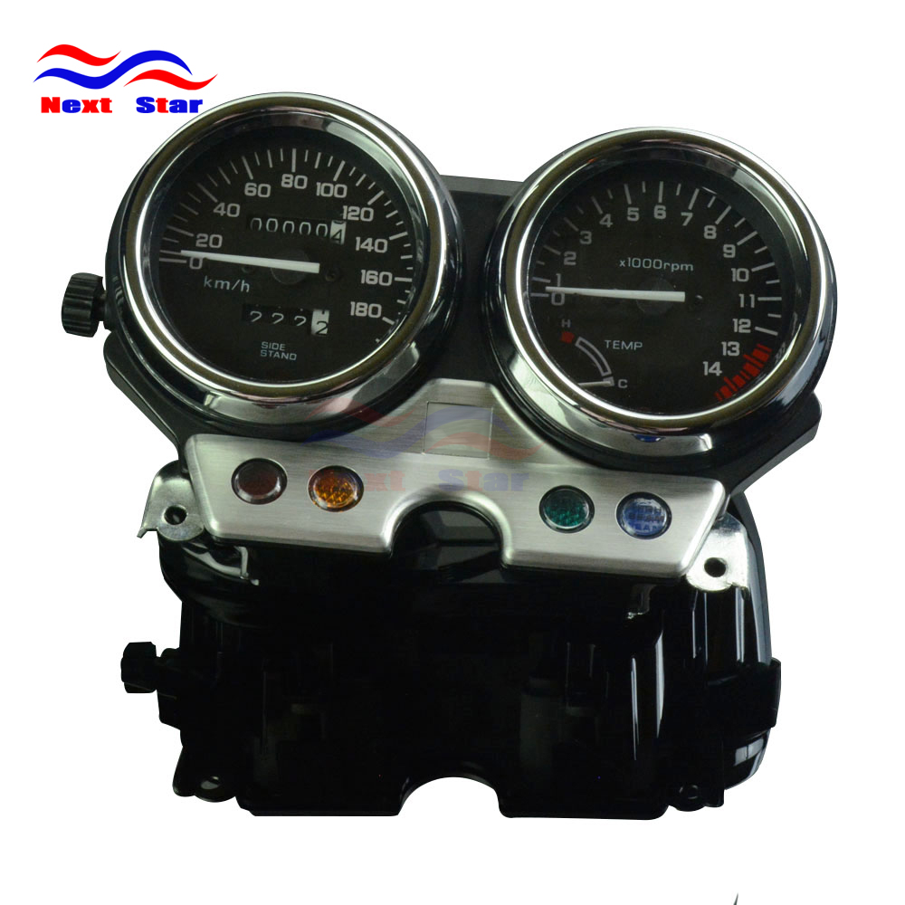 Motorcycle Street Bike Speedometer Gauge Meter Tachometer Gauges For HONDA CB400 CB 400 1992-1994 1992 1993 1994 92 93 94 motorcycle injection abs plastic motorcycle front fender for honda cbr600 f2 1991 1992 1993 1994 91 92 93 94 mould faring parts