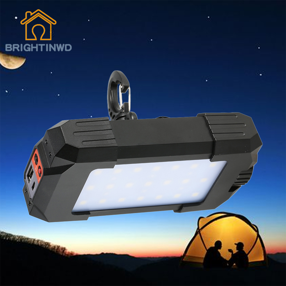 10W 27 LEDS Portable Lantern Camping light with USB Camping Travel Mobile Power Bank 500LM Tent Light
