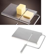 Нож для резки масла из нержавеющей стали, нож для резки сыра, кухонный инструмент для приготовления пищи