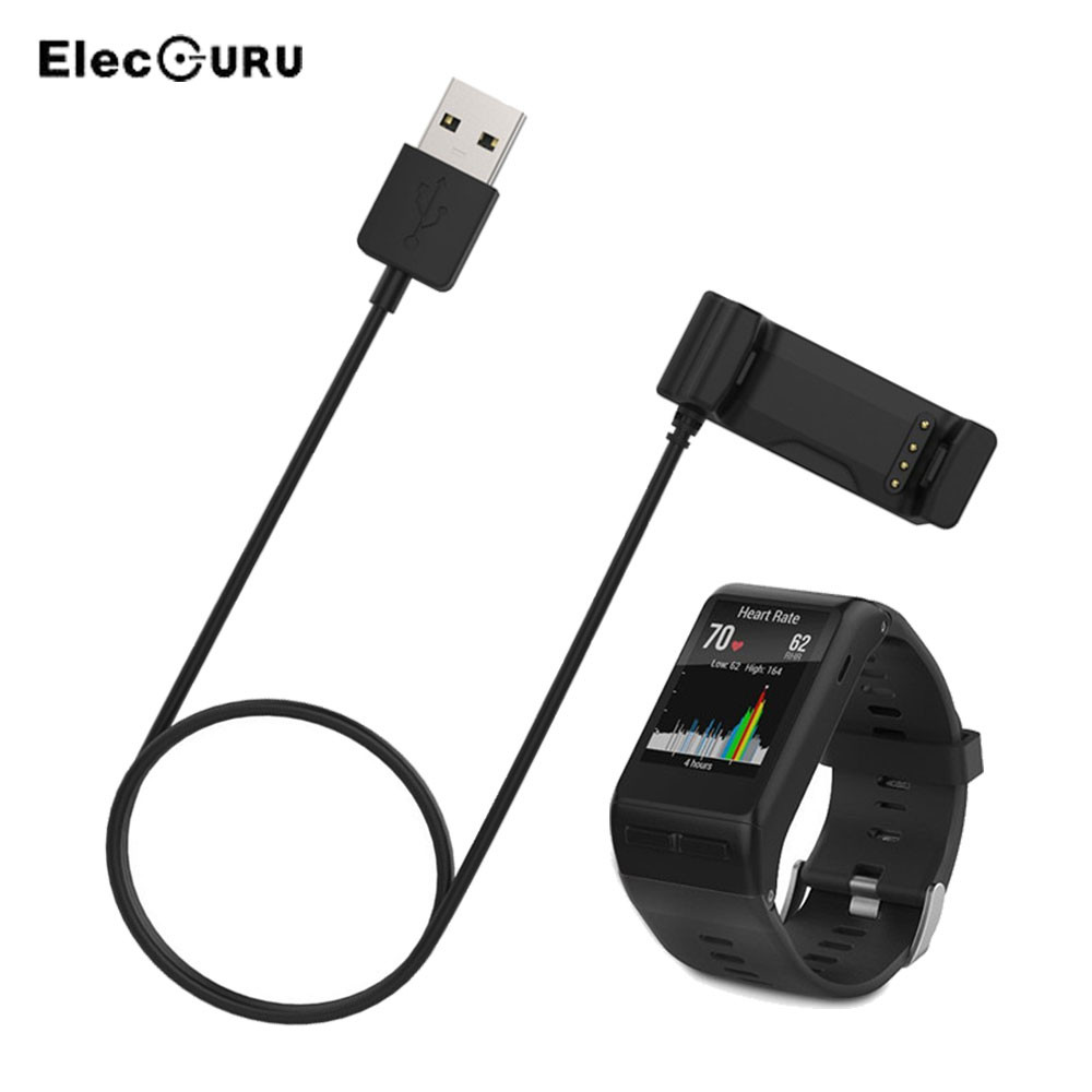 For Garmin Vivoactive Hr Smart Watch 1m Length Usb Data Charging Dock Cradle Smart Wristband Watch Charger Cradle For Garmin Consumer Electronics