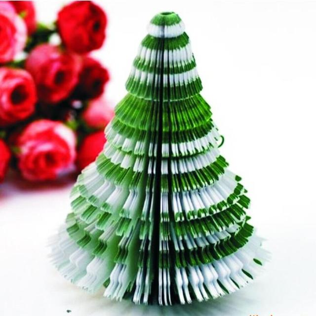 Christmas Tree Post It Diy Kawaii Papelaria Stationery Cute Papeleria Sticky Notes Escritorio Sbooking Office Supplies
