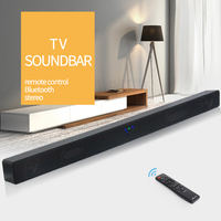JY Audio A1 Bluetooth TV Soundbar Wireless Speaker 2.0 Home Theater Surround Boombox Subwoofer Sound Bar Box For Mobile Phone PC