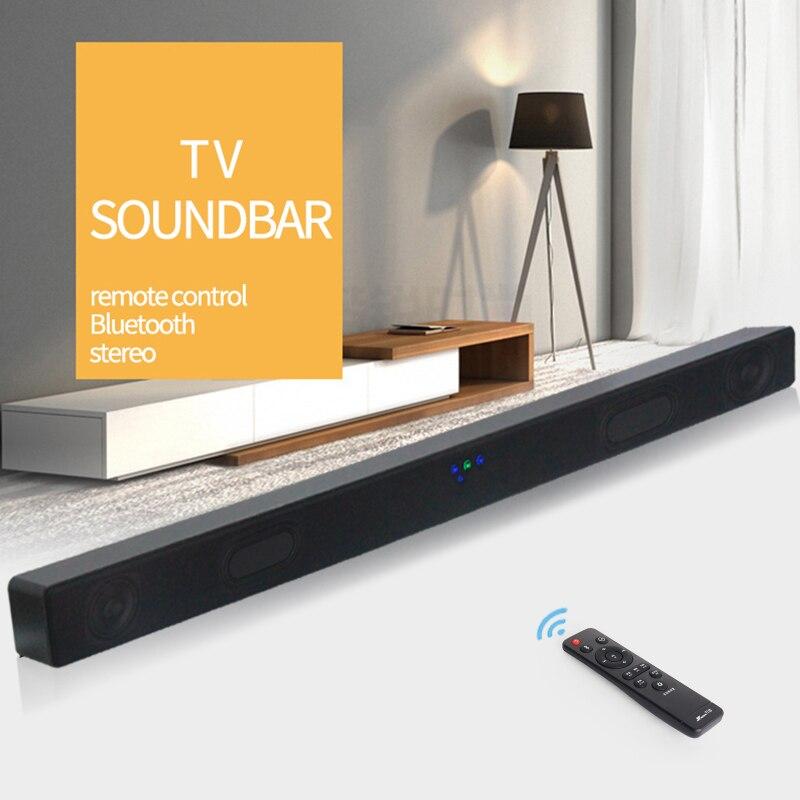 JY Audio A1 Bluetooth TV barre de son sans fil haut-parleur 2.0 Home cinéma Surround Boombox caisson de basses boîte de son pour téléphone portable PC