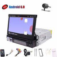 7 Inch Single Din Android 6 0 1080P HD Video Car Gps Cd Dvd Player Car