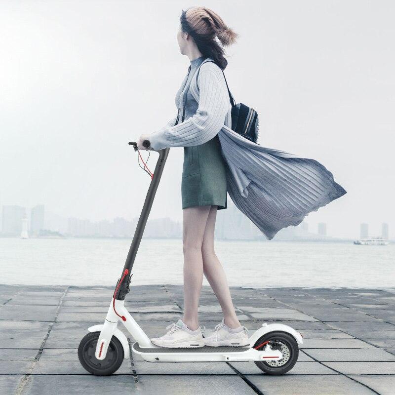 IScooter Scooter Elétrico Dobrável Inteligente Rodas 2 Hoverboard Skate longboard Elétrica com luz LED