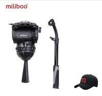 Miliboo M8 профессиональная трансляция видео жидкости главы нагрузки 15 кг устойчивый штатив Стенд камеры с 100 мм чаша