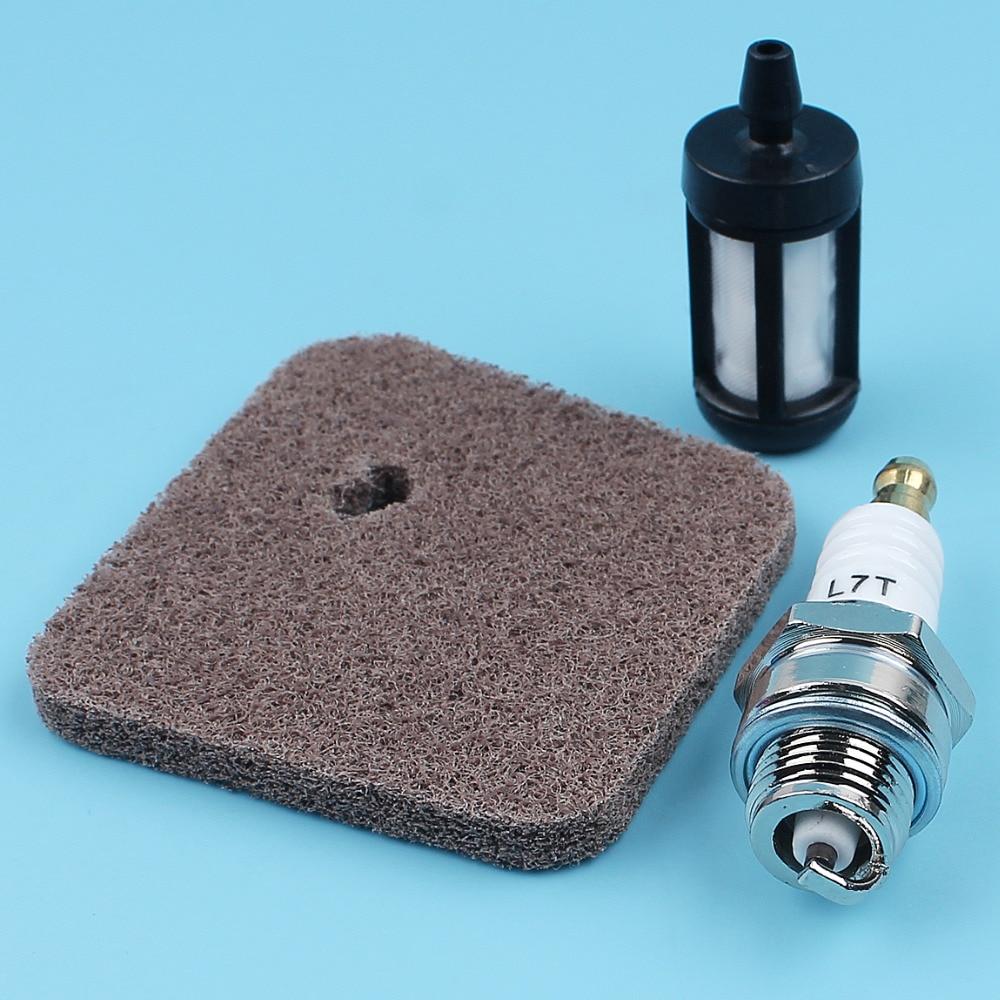Air Fuel Filter Spark Plug For STIHL FS38 FS45 FS46 FS55 FS55R FS55RC KM55 KM55R FC55 HL45 Trimmers & Cutters