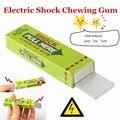 Dia da Mentira Engraçado Choque Elétrico Chewing Gum Joke Brinquedos Do Presente do Dia Das Bruxas