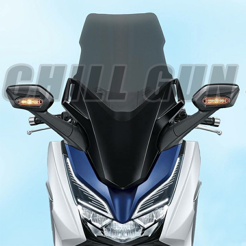 Motorcycle Accessories WindScreen Windshield W Deflector Viser VIsor Fits For HONDA FORZA 125 300 2018  FORZA 300 18' Forza-300