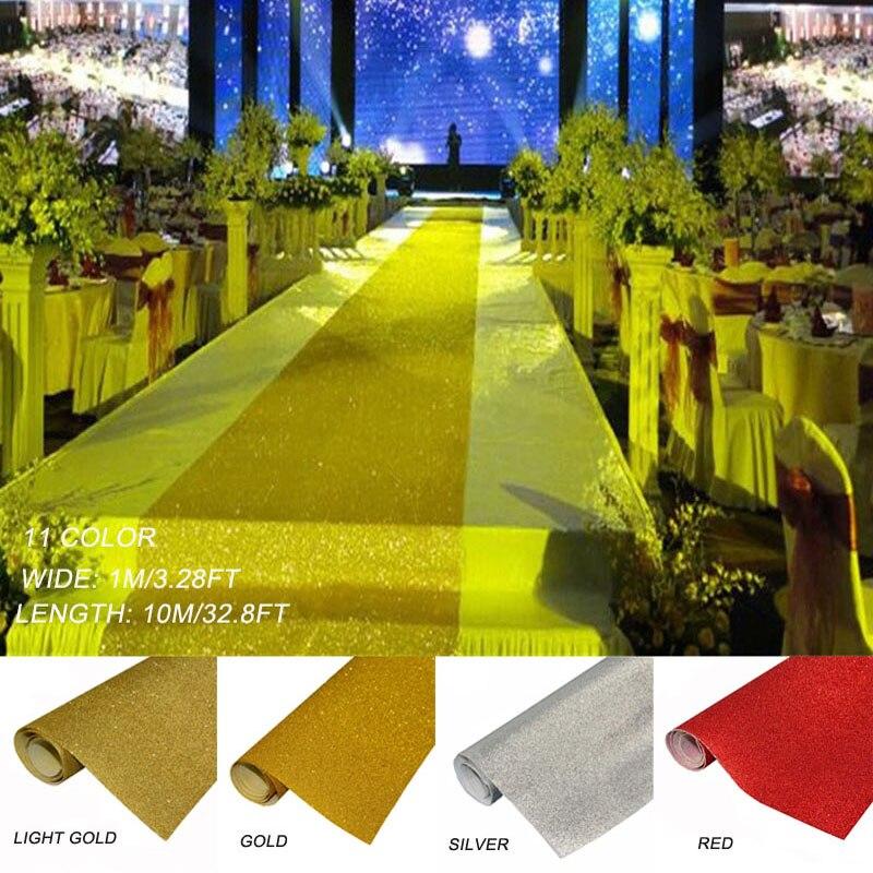 120cmx10m Wedding Ceremony Red Aisle Runner Carpet