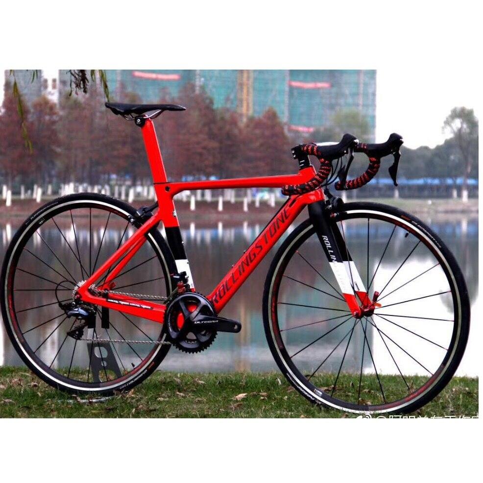 Rolling Stone UCI vélo cadre carbone vélo de route aero cadres FINDER 2018 700C 45 47 50 52 54 56 CM racing toray T800 ultra-léger