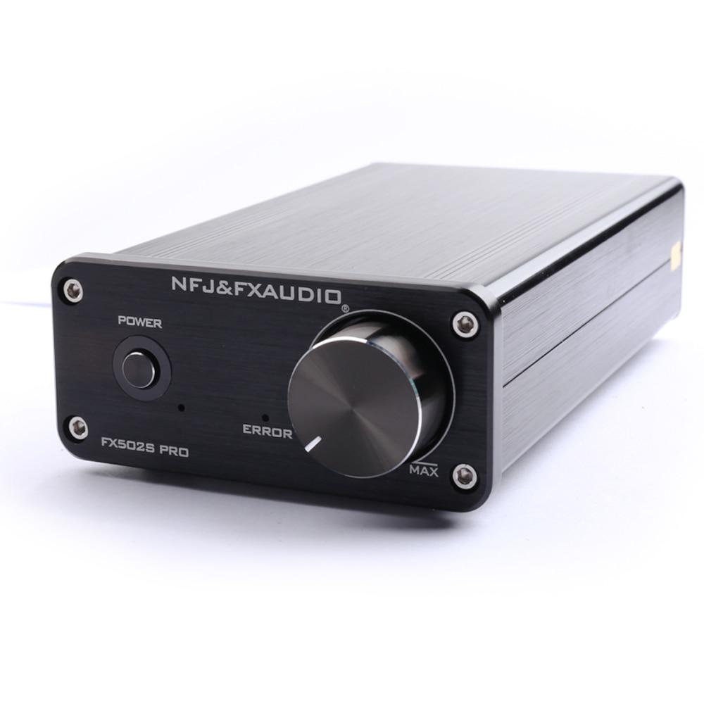 NFJ e FXAUDIO FX502S PRO HIFI 2.0 Audio Digitale Amplificatore Ad Alta Potenza Casa Mini Professionale Amp TPA3250 NE5532 * 2 70 w * 2