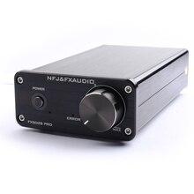 Nfj & fxaudio fx502s pro amplificador de áudio, áudio digital hifi 2.0, casa, mini amplificador profissional amp tpa3250 ne5532 * 2 70w * 2