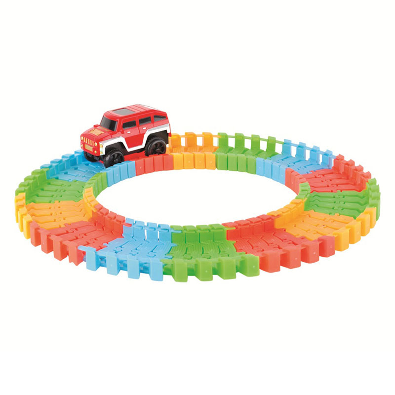 VICIVIYA-Miracle-Glowing-toy-Racing-Track-Set-Flexible-Track-Led-Car-Toy-For-Adult-100165220240pcs-Race-Track-1pc-LED-Car-3