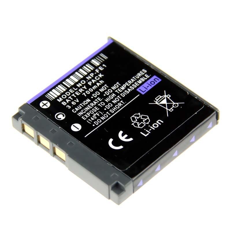 Digital Boy 700mAh Rechargeable Camera Battery NP-FE1 NPFE1 NP FE1 For Sony Cyber-shot DSC-T7 DSC T7/B S780 DSC-S750 Batteries
