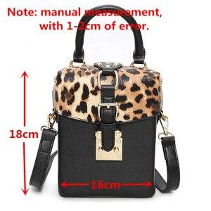 Image 2 - العلامة التجارية الشهيرة شخصية كبيرة حقائب صغيرة مكعب العلامة التجارية التصميم الأصلي حقائب كروسبودي للنساء حقيبة ساع