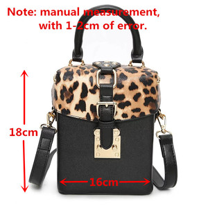 Image 2 - Famous brand Personalized big handbags mini Cube Brand original design crossbody bags for women messenger bags