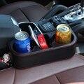 Sostenedor de Taza del coche Organizador Del Asiento Del Teléfono Caja de Almacenamiento de Artículos Diversos Automóviles Bebidas Titulares de Estiba Interior Accesorios de Alimentación