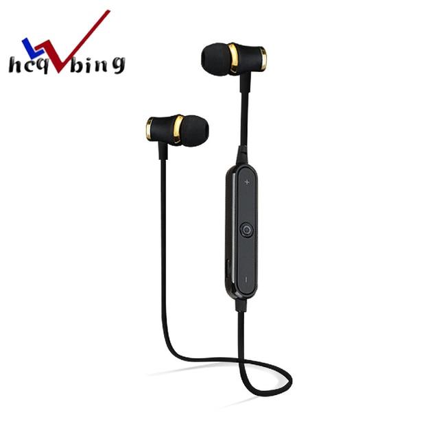 HCQWBING Auricolare Bluetooth Sport Auricolare Senza Fili Cuffia Auricolare  Mic Stereo Auricolari Per apple iphone xiaomi 371f215ddc04