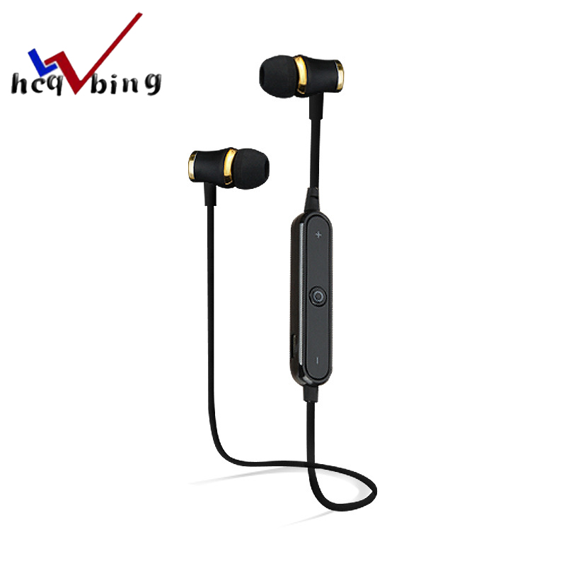 HCQWBING Bluetooth Headset Wireless Sport Earphone Headphone Earpiece Mic Stereo Earbuds For apple iphone xiaomi Mobile Phone free shipping wireless bluetooth headset sports headphone earphone stereo earbuds earpiece with microphone for phone
