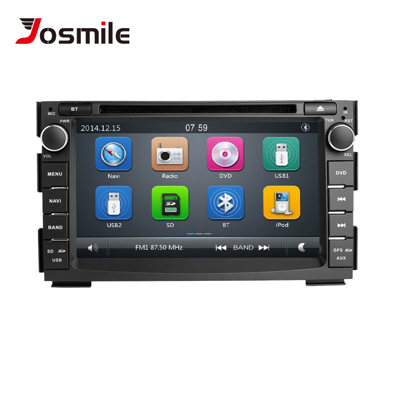 7 2 din Car DVD Multimedia Player For Kia Ceed Kia Venga 2010 2011 2012 AutoRadio
