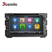 7 2 din Car DVD Multimedia Player For Kia Ceed Kia Venga 2010 2011 2012 AutoRadio GPS Navigation Glonass Stereo Video Head unit