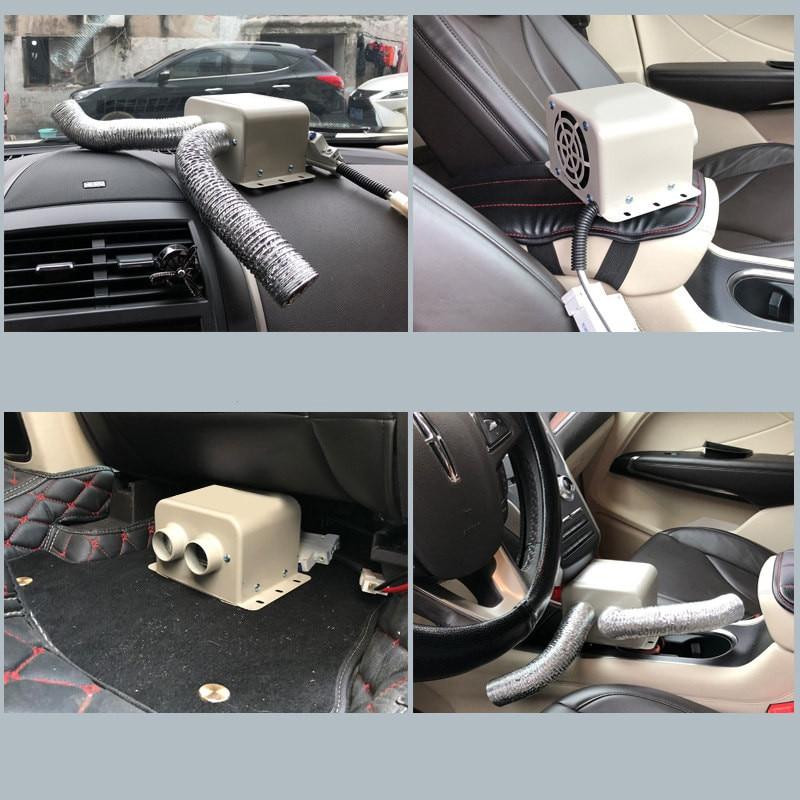 High Power 1000W Heating Fans Truck and Car Winter Auto Heater Warm Dryer Glass Defroster Window Heater Interior Accessories