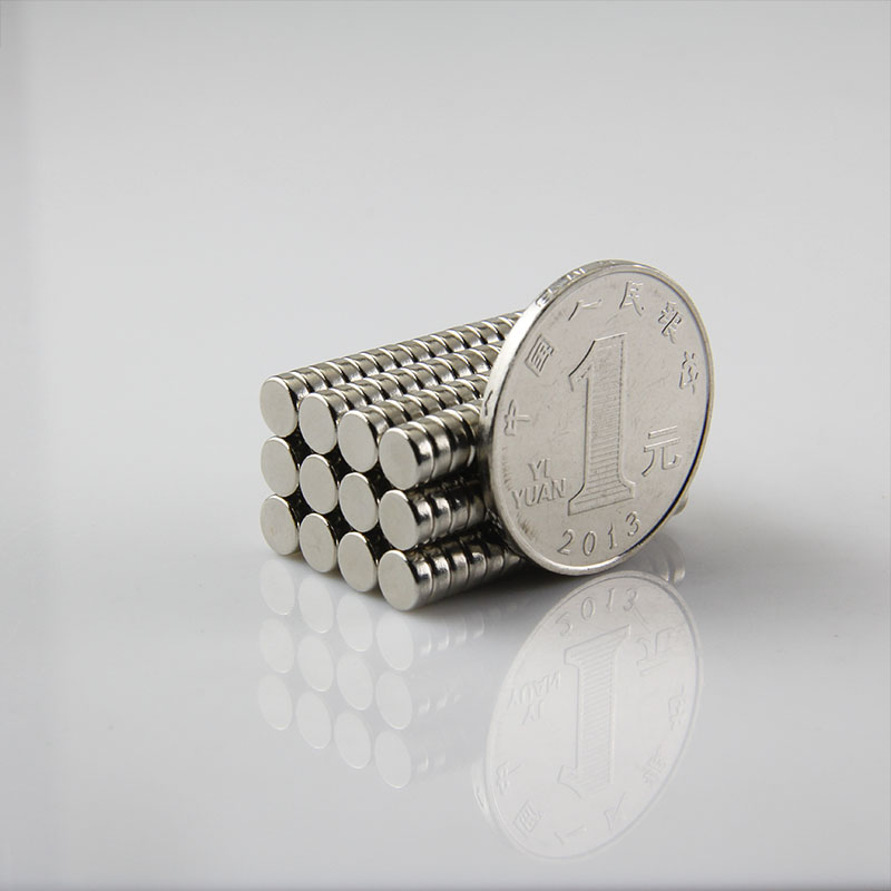 10000pcs disc 5x2mm n50 rare earth permanent strong neodymium magnet bulk NdFeB magnets nickle