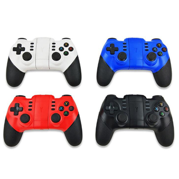 ZM-X6 Bluetooth Wireless Gamepad Controller 2.4G Joystick Gaming Remote For PS3 Console For IOS Android PC Smart Phone