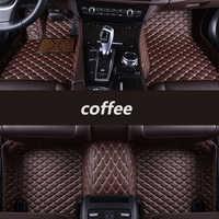 Alfombrillas de suelo de coche personalizadas para Land Rover todos los modelos Rover Range Evoque Sport freellander Discover 3 4 5 auto estilismo