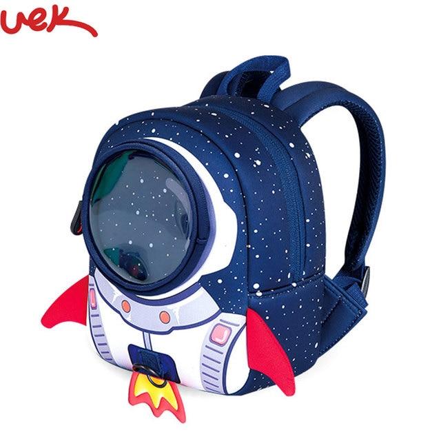 20a70b175a11 Cute School bags Children School Backpack Aged 1-3 Years Old Rocket Shape  Girls Boys Cartoon Shaped Children Backpacks A2283