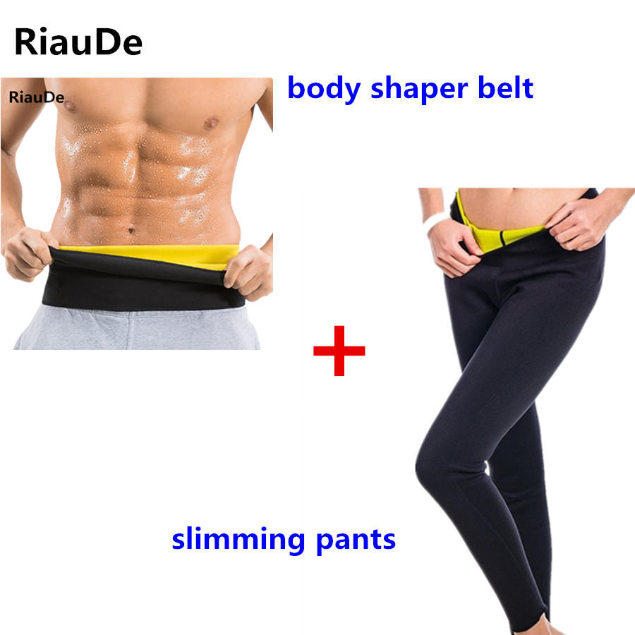 f13d8505ee Hot Shapers Pants Belt Slimming Pants Body Shapers Belt Neoprene Waist  Trainer Corset Slimming Control Pants Fitness