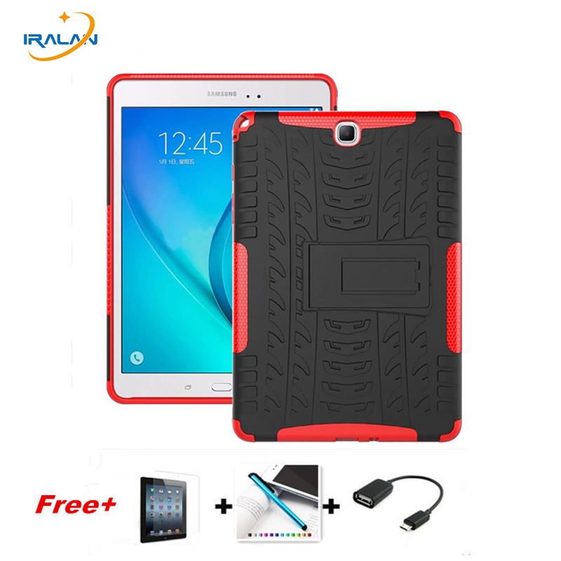 2017 Hybrid Rugged Combo Heavy Duty Hard Cover Skin for Samsung Galaxy Tab A 9 7