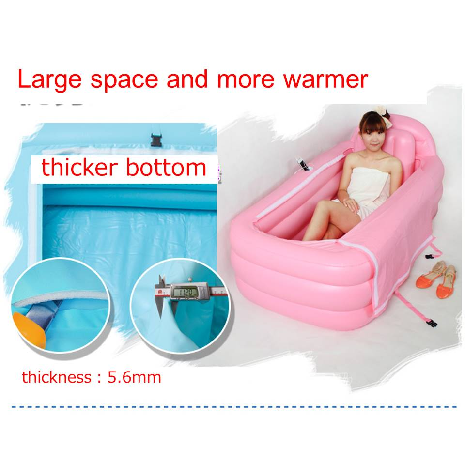 Inflatable bathtub folding bath tub Winter dedicated /adult bath tub ...