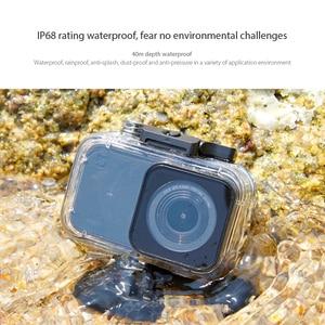 Image 5 - Original Xiaomi Camera Diving Case 40m Waterproof Protector for Xiaomi Mini Sport Action Camera 4K IP68 Rating Anti fog Film